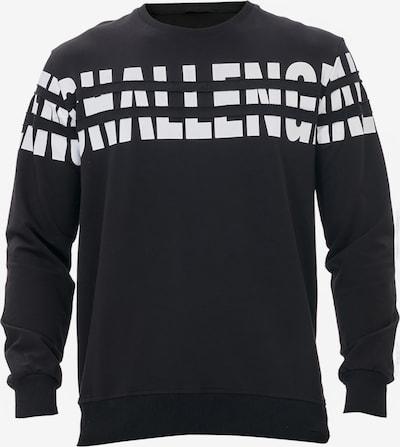 Tom Barron Sweatshirt in schwarz / weiß, Produktansicht