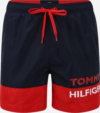 Tommy Hilfiger Underwear Badeshorts i blå / mørkeorange, Produktvisning