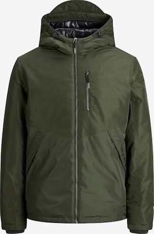 Jack & Jones Plus Between-Season Jacket 'Faster' in Green