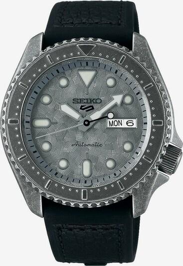 SEIKO Uhr in grau / schwarz, Produktansicht