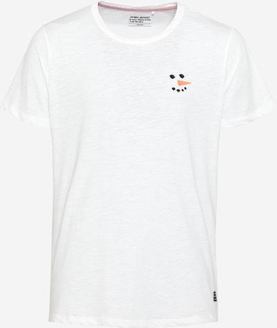 BLEND T-Shirt in orange / schwarz / weiß, Produktansicht