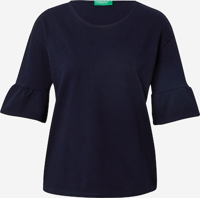 UNITED COLORS OF BENETTON Shirt in navy, Produktansicht