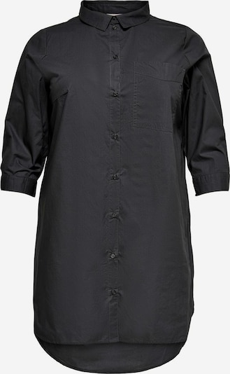 ONLY Carmakoma Bluse in dunkelgrau, Produktansicht
