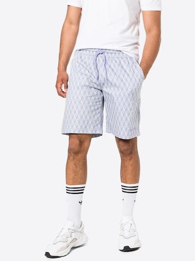 ADIDAS ORIGINALS Kalhoty 'Monogram' - světle zelená / fialová, Model/ka