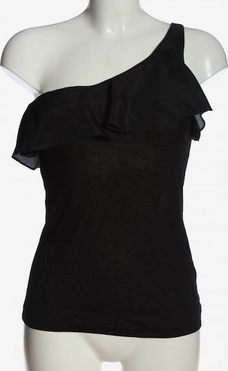 H&M One-Shoulder-Shirt in S in schwarz, Produktansicht