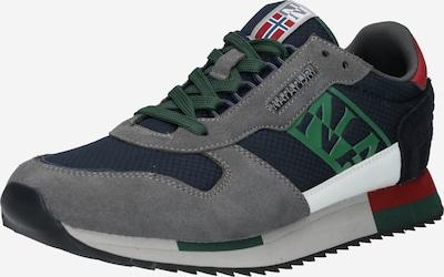 NAPAPIJRI Nízke tenisky 'VIRTUS' - námornícka modrá / sivá / zelená / biela, Produkt