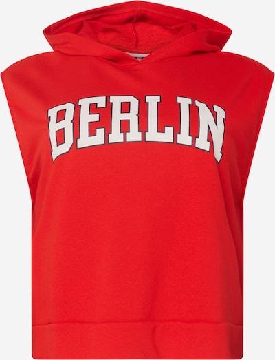 Noisy May Curve Sportisks džemperis 'RUBY', krāsa - spilgti sarkans / melns / balts, Preces skats