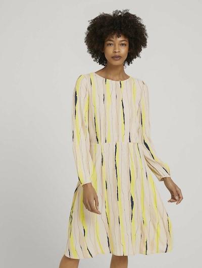 Rochie MINE TO FIVE pe bej / galben / negru, Vizualizare model