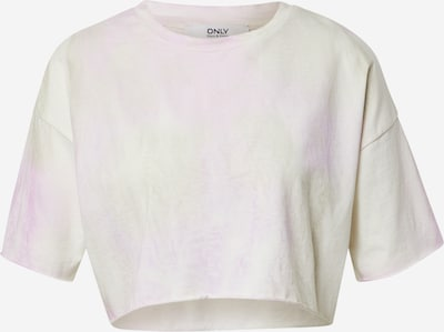 ONLY Shirt in Pastel yellow / Orchid / Pastel red / White, Item view
