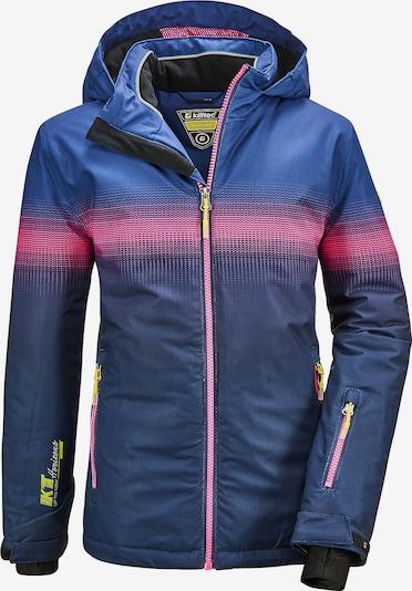 KILLTEC Skijacke 'GLENSHEE E' in dunkelblau / pink, Produktansicht