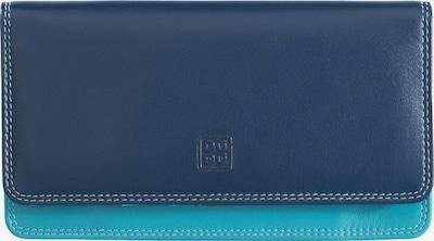 DuDu Portemonnaie  'Canarie' in türkis / dunkelblau, Produktansicht