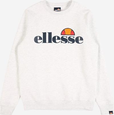 ELLESSE Sweatshirt 'Siobhen' in kobaltblau / orange / rot / weißmeliert, Produktansicht