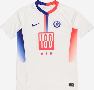NIKE Sporta krekls kobaltzils / oranžsarkans / balts, Preces skats
