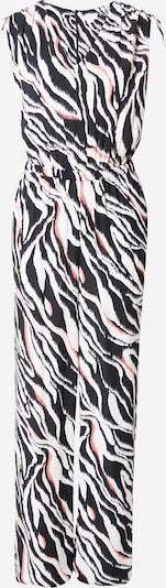 s.Oliver Ολόσωμη φόρμα σε πορτοκαλί / μαύρο / λευκό, Άποψη προϊόντος