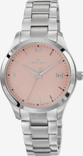 DUGENA Analoguhr 'Tresor' in rosé / silber, Produktansicht