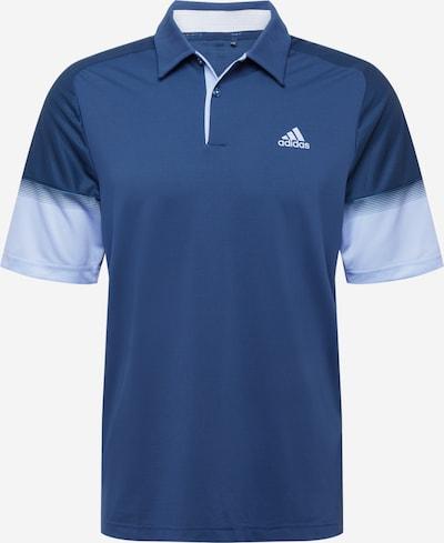 adidas Golf Funktionsshirt in navy / hellblau / weiß, Produktansicht