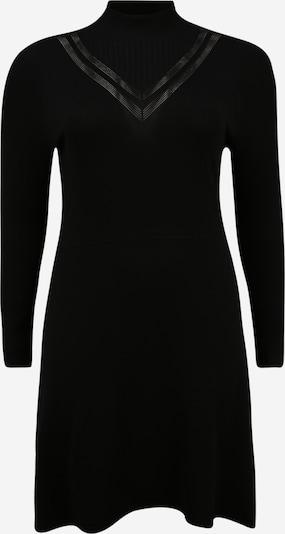 ONLY Robes en maille en noir, Vue avec produit