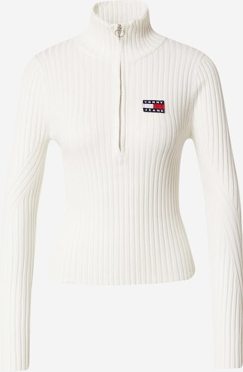 Tommy Jeans Pullover in navy / rot / naturweiß, Produktansicht