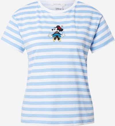 DeFacto T-shirt en marine / turquoise / jaune / blanc, Vue avec produit