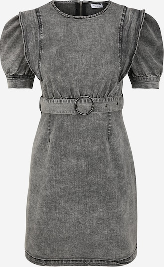 Noisy May (Petite) Kleid 'Lisa' in grey denim, Produktansicht