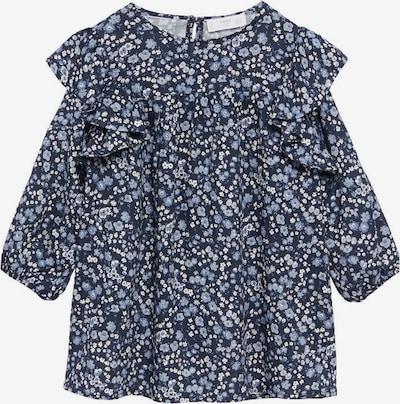 MANGO KIDS Kleid 'Miri' in navy / hellblau / weiß, Produktansicht