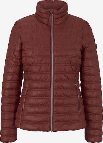 TOM TAILOR Between-Season Jacket in Red