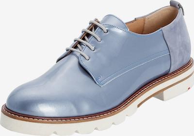 LLOYD Schnürschuhe mit flexibler Gummisohle in blau, Produktansicht