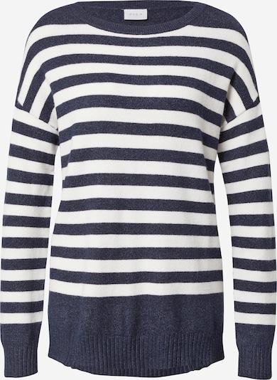 VILA Sweter w kolorze niebieski / białym, Podgląd produktu