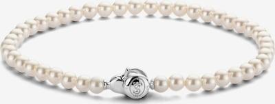 Ti Sento Milano Armband in silber / perlweiß, Produktansicht