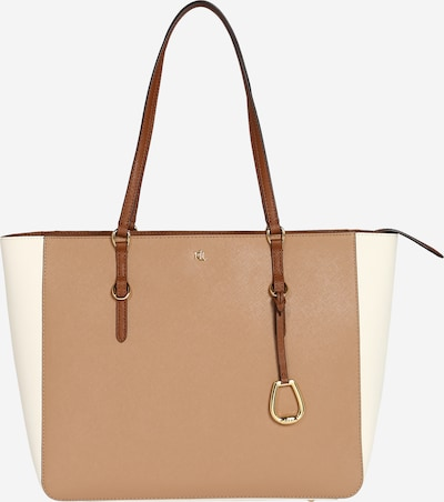 Lauren Ralph Lauren Shopper - hnedá / biela ako vlna, Produkt