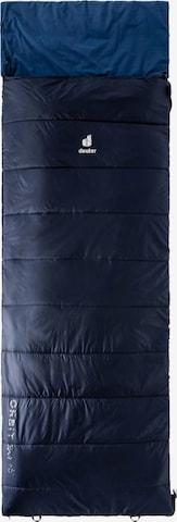 DEUTER Sleeping Bag 'Orbit SQ' in Blue