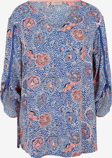 TRIANGLE Bluse in blau / koralle / weiß, Produktansicht