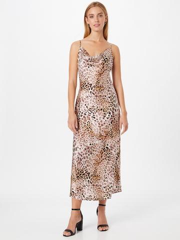 GUESS Φόρεμα κοκτέιλ 'AKILINA' σε μπεζ