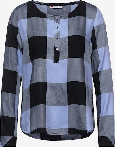 STREET ONE Bluse in dunkelblau, Produktansicht