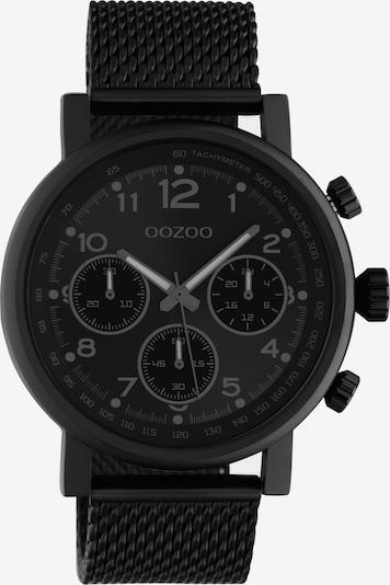 OOZOO Uhr in grau / schwarz, Produktansicht