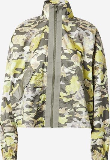 Nike Sportswear Jacke in senf / hellgrau / khaki, Produktansicht