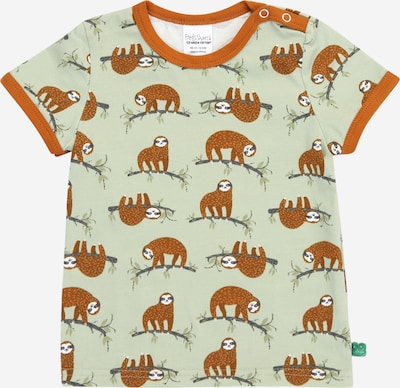 Fred's World by GREEN COTTON T-Shirt 'Sloth' en menthe / homard / noir / blanc, Vue avec produit