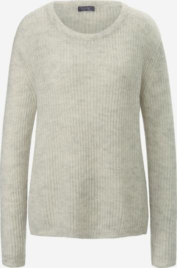 MYBC Rundhals-Pullover in grau / hellgrau / graumeliert, Produktansicht