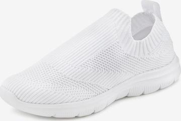 LASCANA Slip-Ons in White