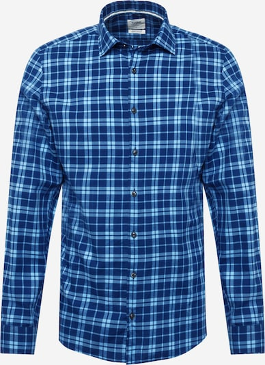 OLYMP Button Up Shirt 'Level 5' in Blue / Light blue, Item view