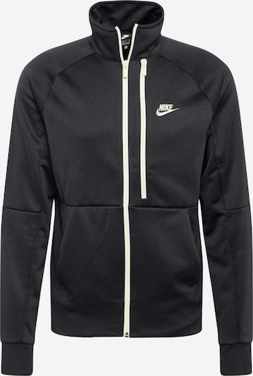 Nike Sportswear Sportiska jaka 'Tribute' melns / balts, Preces skats