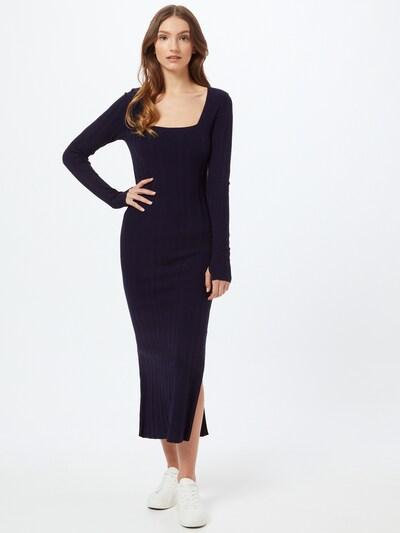 HUGO Úpletové šaty 'Sherlee' - tmavě modrá, Model/ka