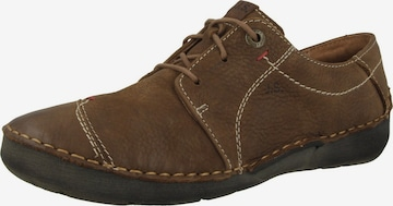 JOSEF SEIBEL Lace-Up Shoes 'Fergey' in Brown
