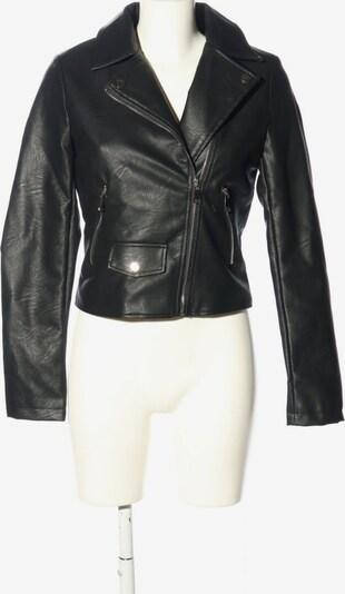 Osley Kunstlederjacke in S in schwarz / weiß, Produktansicht