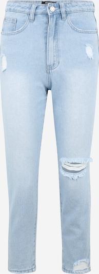 Missguided Petite Vaquero 'DISTRESS RIOT' en azul claro, Vista del producto