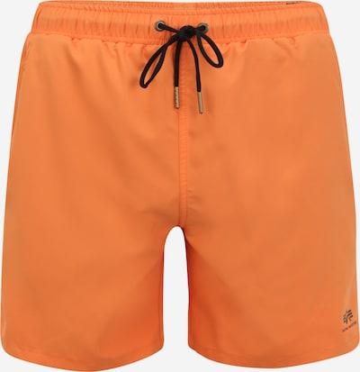 ALPHA INDUSTRIES Шорти за плуване в оранжево / черно, Преглед на продукта