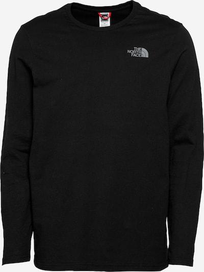 THE NORTH FACE Shirt 'Easy' in de kleur Grijs / Zwart / Wit, Productweergave