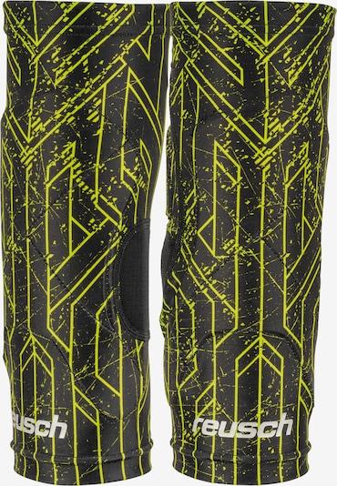 REUSCH Knieschoner 'Supreme Knee Protector Sleeve' in neongelb / schwarz, Produktansicht