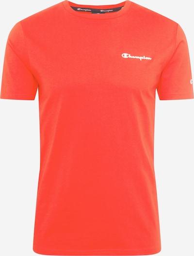 Champion Authentic Athletic Apparel Paita värissä oranssinpunainen / valkoinen, Tuotenäkymä