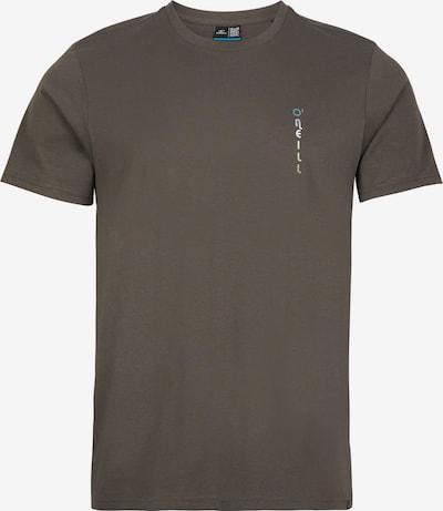O'NEILL T-Shirt 'Retro Surfer' in türkis / gelb / khaki / weiß, Produktansicht